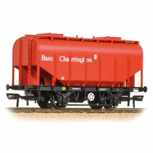 Bachmann OO 38-603 21 Ton Grain Hopper BR PO Bass Red