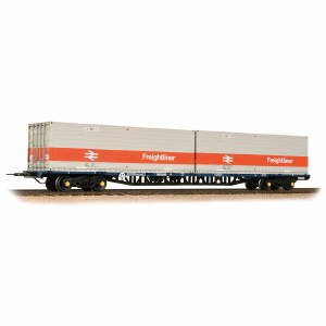 Bachmann OO 38-626 FFA BR Freightliner Inner Container Flat ISO Containers