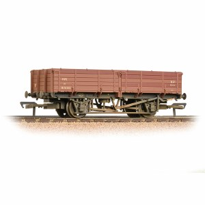 Bachmann OO 38-700A 12 Ton Pipe Wagon BR Bauxite (Early) - Weathered