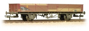 Bachmann OO 38-750 22 Ton STV Tube Wagon BR Bauxite (TOPS) Weathered