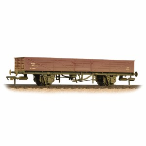 Bachmann OO 38-751A 22 Ton Tube Wagon BR Bauxite (Early) Weathered