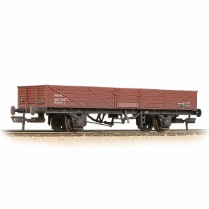 Bachmann OO 38-752A BR 22T Tube Wagon BR Bauxite (Late) - Weathered