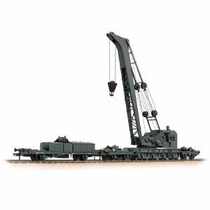Bachmann OO 38-801 Ransomes & Rapier 45 Ton Breakdown Crane GWR Black