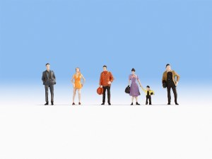 Noch N 38101 Hobby Series - Pedestrians (6)