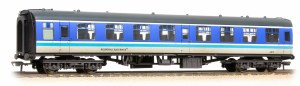 Bachmann OO 39-056A Mk1 TSO Tourist Second Open BR Regional Railways  - Weathered - Includes Passengers