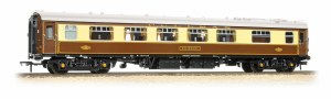 Bachmann OO 39-282 Mk1 Pullman PFK First Kitchen 'Robin' Pullman Umber & Cream (White Roof)