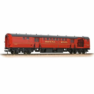 Bachmann OO 39-421B Mk1 POS Post Office Sorting Van Royal Mail Post Office Red with Nets