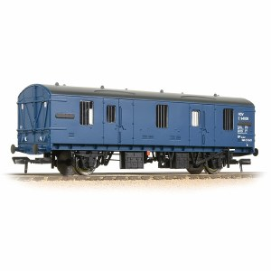 Bachmann OO 39-551A Mk1 CCT Covered Carriage Truck BR Blue