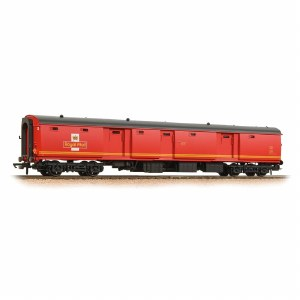 Bachmann OO 39-765 BR Mk1 POT Stowage Van Royal Mail Travelling Post Office Red