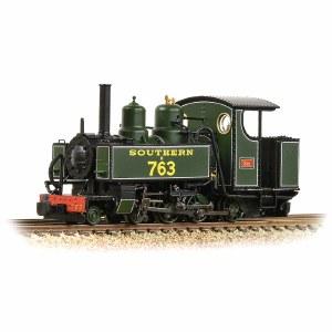 Bachmann Narrow Gauge OO9 391-032 Baldwin 10-12-D Tank E763 'Sid' SR Maunsell Green