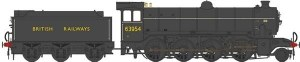 Heljan OO 3911 Class O2 Tango BR 63954 with Stepped Tender