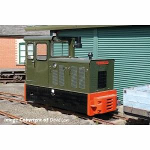 Bachmann Narrow Gauge OO9 392-026 Baguley-Drewry 70hp Diesel Green
