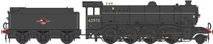 Heljan OO 3922 Class O2 Tango BR 63975 Late Crest with Flush Tender