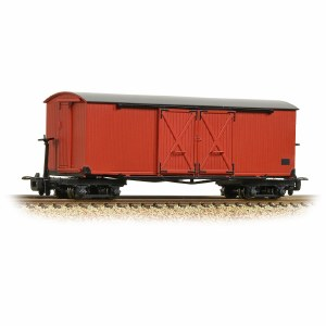 Bachmann Narrow Gauge OO9 393-027 Covered Goods Wagon Lincolnshire Coast Light Railway Crimson