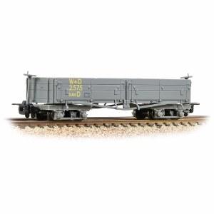 Bachmann Narrow Gauge OO9 393-050A Open Bogie Wagon WD Grey