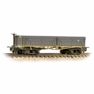Bachmann Narrow Gauge OO9 393-051A Open Bogie Wagon Nocton Estates L. R. Grey - Weathered