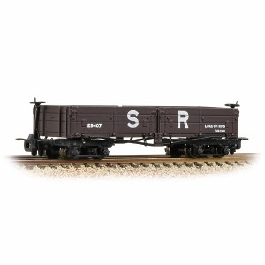 Bachmann Narrow Gauge OO9 393-054 Open Bogie Wagon SR Brown