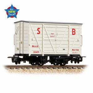 Bachmann Narrow Gauge OO9 393-127 RNAD Van Statfold Barn Railway White 'MICA B'