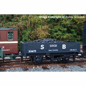 Bachmann Narrow Gauge OO9 393-150 RNAD Rebuilt Open Wagon Statfold Barn Railway Grey