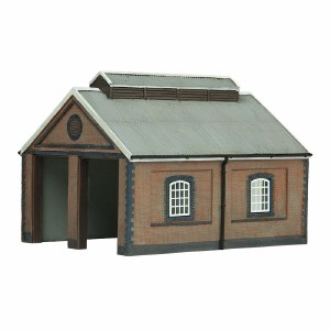 Graham Farish N 42-0001 Two Road Brick Engine shed