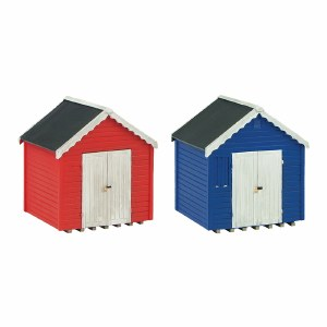 Graham Farish N 42-0080 Beach Huts (x2)