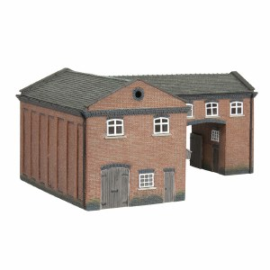 Graham Farish N 42-0086 Industrial Gate House