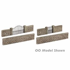 Graham Farish N 42-555 Stone Walls and Gates