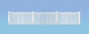 Ratio OO 421 GWR Station Fencing White