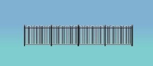 Ratio OO 434 Spear Fencing straight only