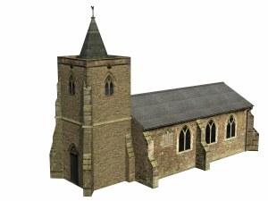 Bachmann OO 44-0052 Church