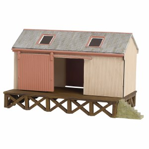 Bachmann OO 44-006 Corrugated Goods Shed