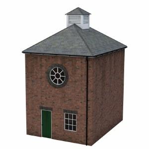 Bachmann OO 44-0113 Brick Boiler Room