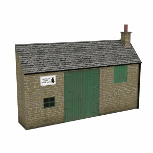 Bachmann OO 44-0200 Low Relief Honey Stone Smithy