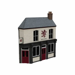 Bachmann OO 44-0201 Low Relief Corner Pub, The Red Lion