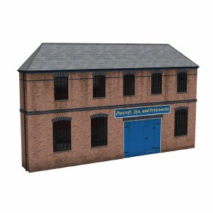 Bachmann OO 44-0205 Low Relief Victorian Factory Front