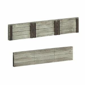 Bachmann OO 44-0509 Wood Sleeper Retaining Walls