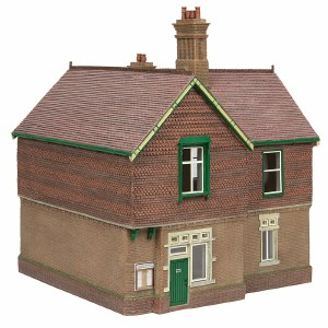 Bachmann OO 44-088G Bluebell Booking Office Green and Cream