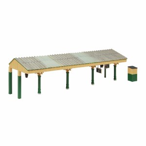 Bachmann OO 44-089G Bluebell Station Canopy Green and Cream
