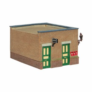 Bachmann OO 44-090G Bluebell Waiting Room and Toilet Green and Cream