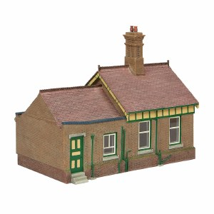 Bachmann OO 44-091G Bluebell Office and Store Room Green and Cream