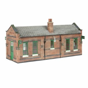 Bachmann OO 44-116A Great Central Waiting Room Green & Cream
