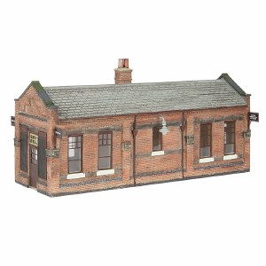 Bachmann OO 44-116B Great Central Waiting Room Brown & Cream