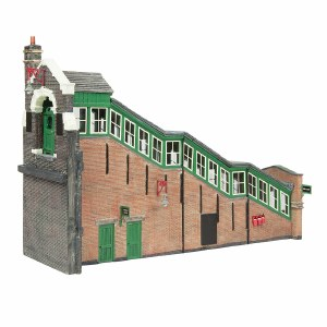 Bachmann OO 44-119A Great Central High Level Station Entrance Green & Cream