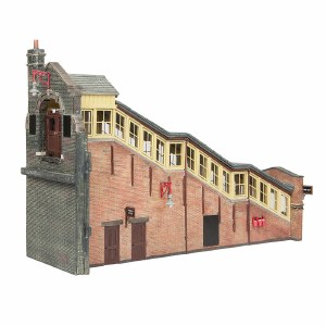 Bachmann OO 44-119B Great Central High Level Station Entrance Brown & Cream