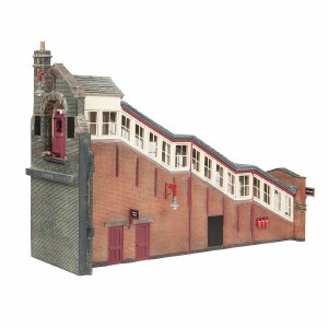 Bachmann OO 44-119C Great Central High Level Station Entrance Maroon & Cream