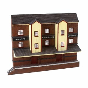 Bachmann OO 44-204 Low Relief Bonded Warehouse