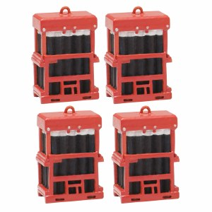 Bachmann OO 44-537 Caged Gas Bottles (x4)