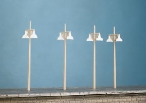 Ratio OO 454 Concrete Lamps 4 Double Standards per pack