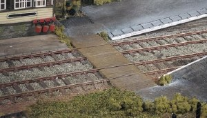 Ratio OO 456 Station Barrow Crossing