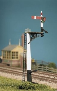 Ratio OO 466 GWR Square Post Signal